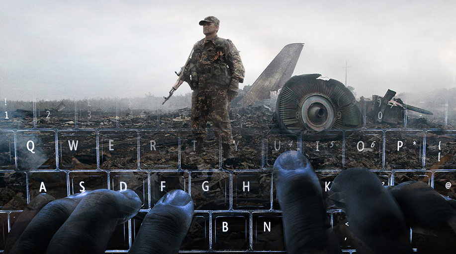 A still from the documentary Bellingcat - Truth In A Post Truth World