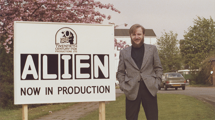 A still from the documentary Memory: The Origins of Alien.