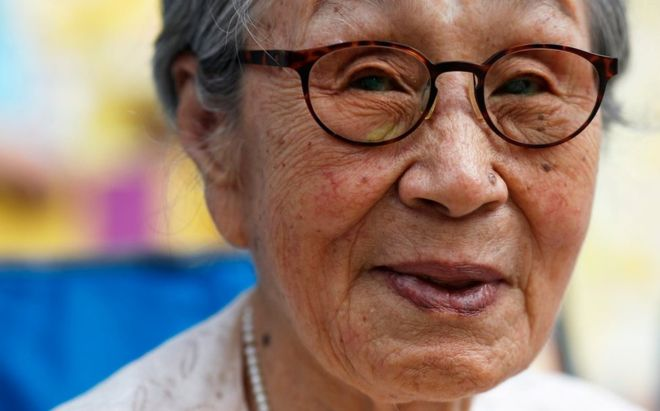 An image from the documentary My Name is Kim Bok Dong.