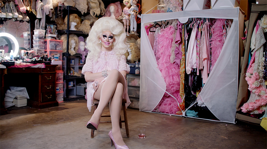 An image from the documentary Trixie Mattel: Moving Parts.