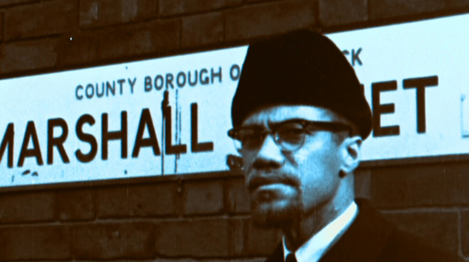 A still from the documentary Handsworth Songs by John Akomfrah.