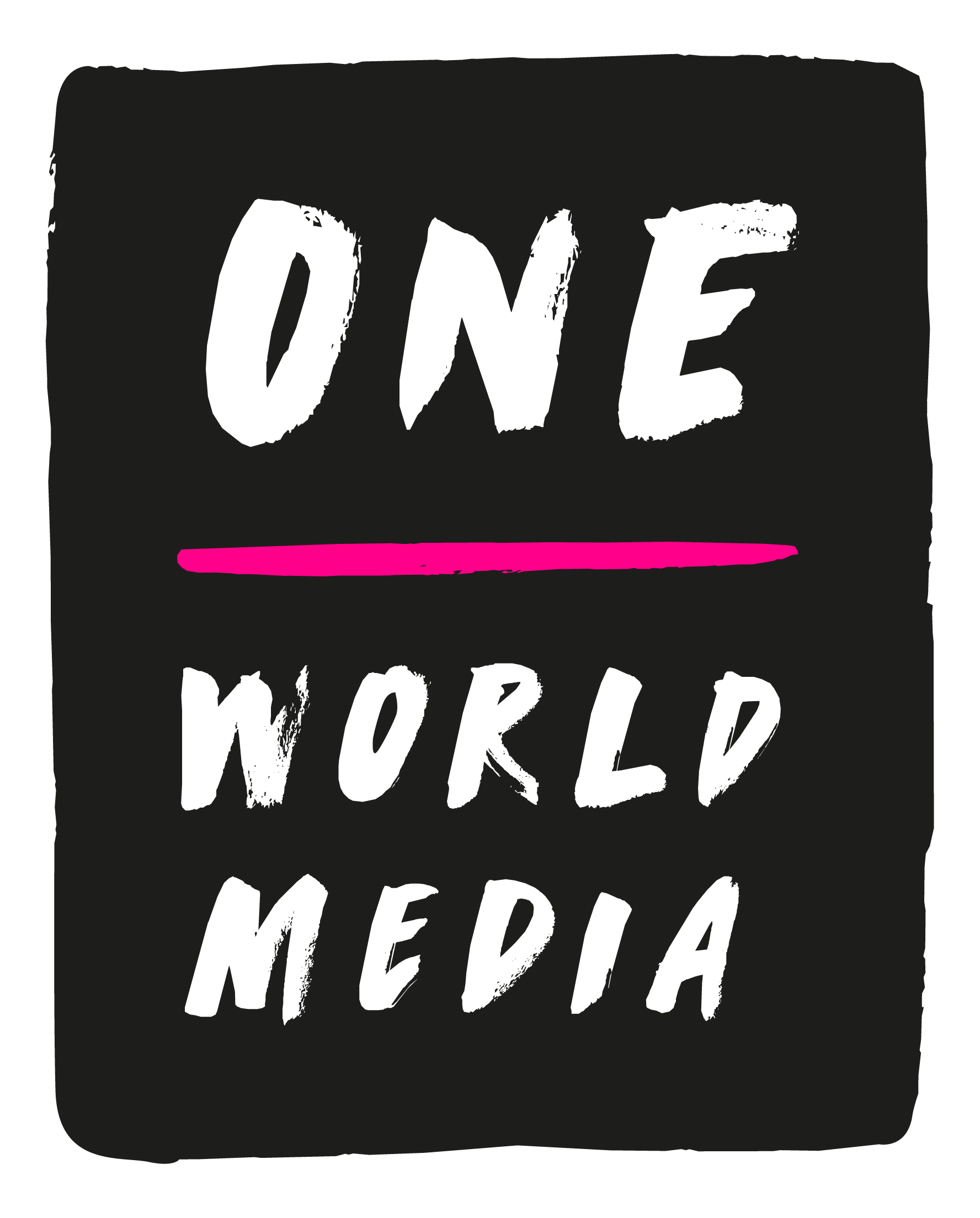 An image of the One World Media logo.