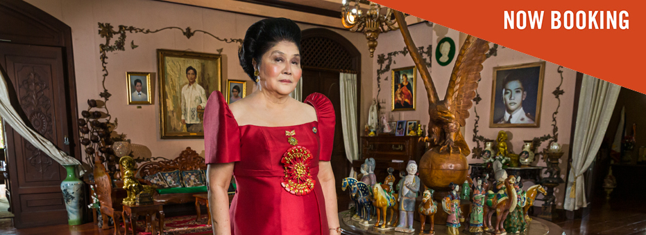 Imelda Marcos, former first lady of the Phillipenes